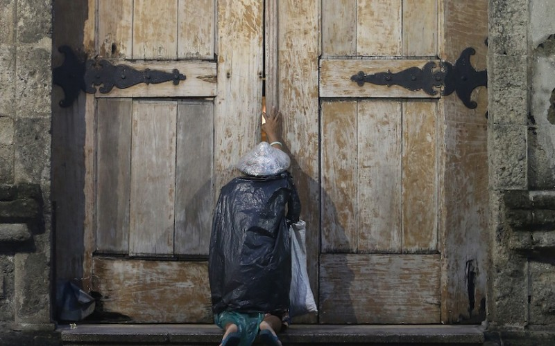 Many exploring Catholicism find the doors of our churches closed to them (CNS)