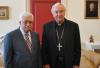 Archbishop Nichols meets Mahmoud Abbas to discuss Middle East peace process