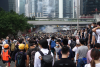 Mass held after Hong Kong protest turns violent