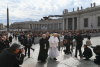God does not hide behind riddles, pope says